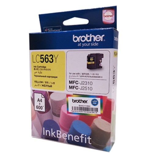 Mực in Brother LC 563 Yellow Ink Cartridge