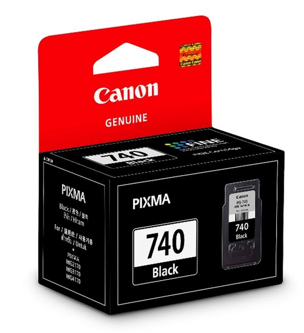 Mực in Canon PG 740 Black Ink Cartridge