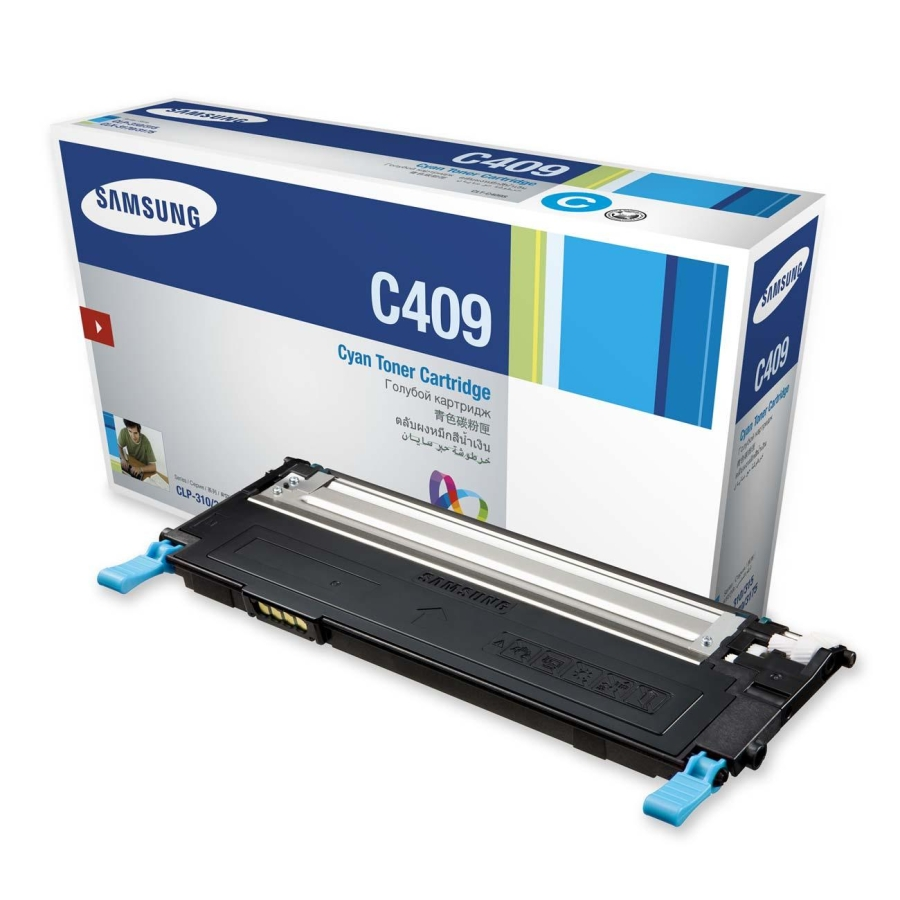 Mực in Samsung CLT-C409S Cyan Toner Cartridge