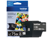 Mực in Brother LC75BK High-yield Black Ink Cartridge