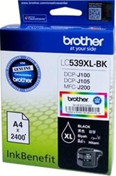 Mực in Brother LC 539Bk Black Ink Cartridge